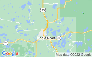 Map of Hi-Pines Eagle River Campground