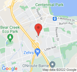 Google Map of 192+Essa+Road%2CBarrie%2COntario+L4N+3L1