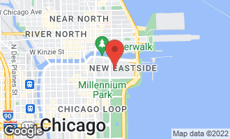 Map of 192 North Park Drive CHICAGO, IL 60601
