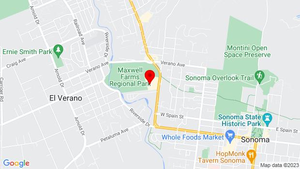 Google Map of 19201 Sonoma Highway #214, Sonoma, CA 95476