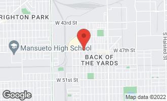 Map of 1922 West 47th Street CHICAGO, IL 60609