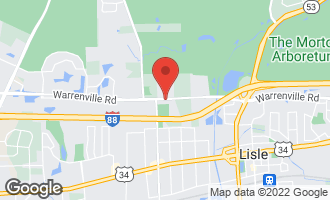 Map of 1923 Warrenville Road LISLE, IL 60532