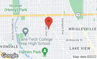Map of 1924 West Patterson Avenue CHICAGO, IL 60657