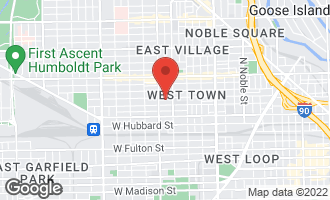 Map of 1931 West Erie Street CHICAGO, IL 60622
