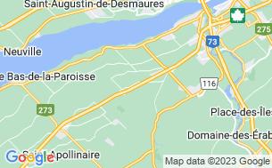 Map of Camping Au Sous-Bois Du Campeur
