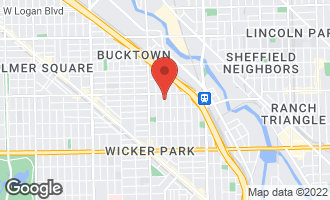 Map of 1933 North Wolcott Avenue CHICAGO, IL 60622