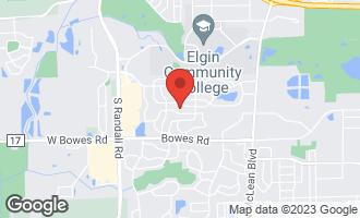 Map of 1934 Mission Hills Drive ELGIN, IL 60123