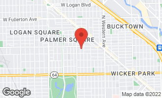 Map of 1935 North Fairfield Avenue #304 CHICAGO, IL 60647