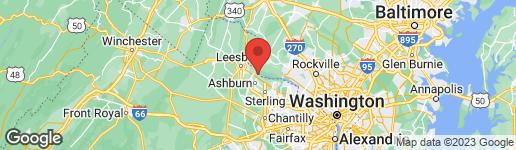 Map of 19355 CYPRESS RIDGE TERRACE #823 LEESBURG, VA 20176