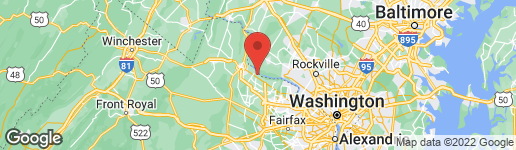 Map of 19365 CYPRESS RIDGE TERRACE #809 LEESBURG, VA 20176