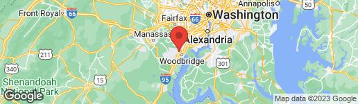 Map of 1938 INGLEBROOK DRIVE WOODBRIDGE, VA 22192