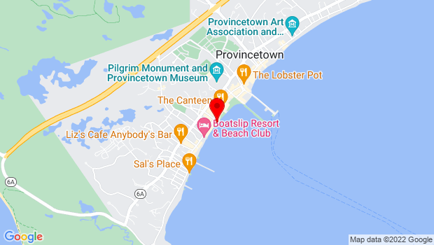 Google Map of 193A Commercial Street, Provincetown, MA