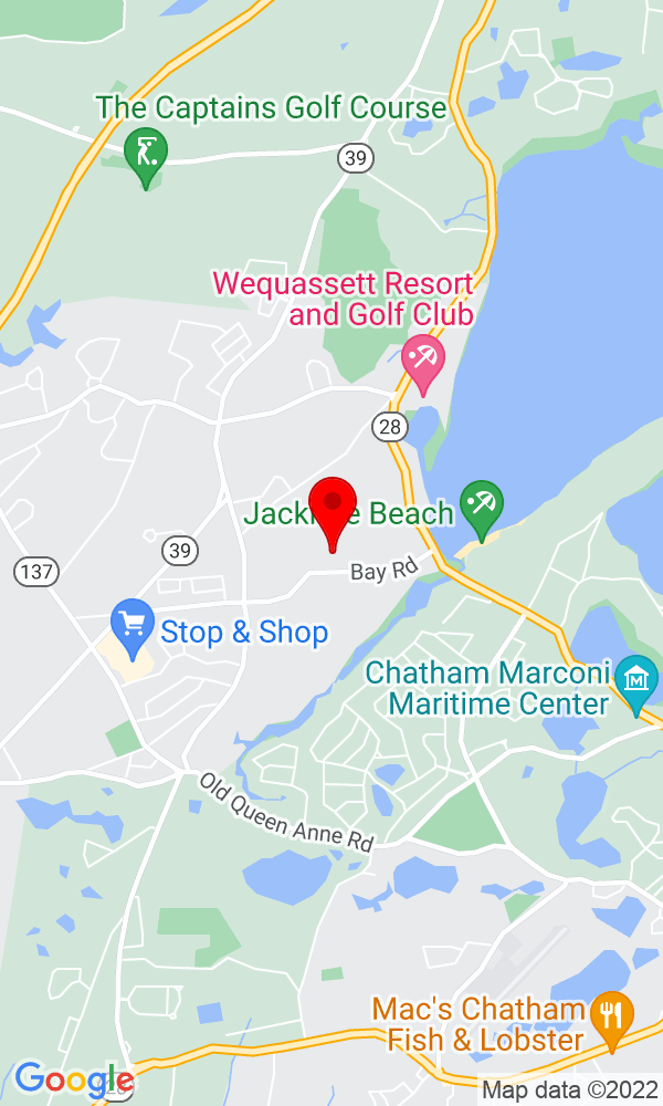 Google Map of194 Bay Rd Harwich MA