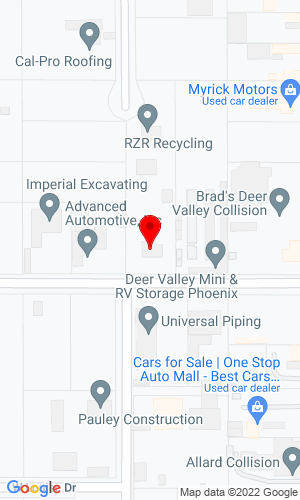 Google Map of Enviromental Equipment 1940 West Adobe Drive, Phoenix, AZ, 85027