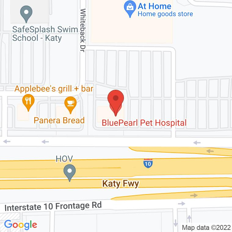 Google Map of 19450 Katy Freeway, Suite 200, Houston, TX 77094, 19450 Katy Freeway, Suite 200, Houston, TX 77094