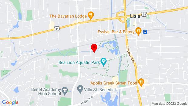 Google Map of 1946 University Lane, Lisle, IL 60532