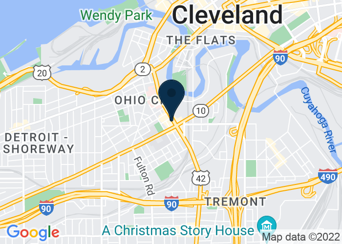 Map of 1948 W 25th Street, Cleveland, OH 44113