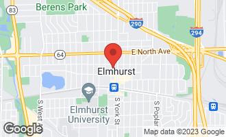 Map of 195 North Addison Avenue PH01 ELMHURST, IL 60126