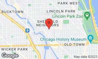 Map of 1960 North Seminary Avenue C CHICAGO, IL 60614