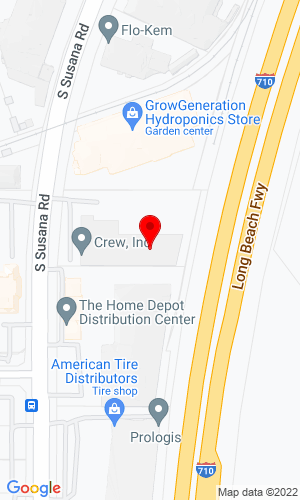 Google Map of Westrax Machinery 19618 South Susana Road, Rancho Dominguez, CA, 90220