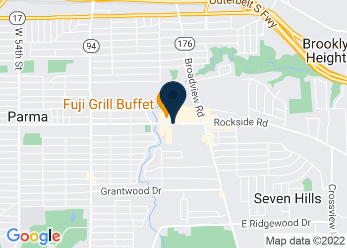 Map of 1975 Snow Rd, Parma, OH, United States