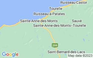 Map of Camping De La Rivière