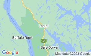 Map of Camping Laniel