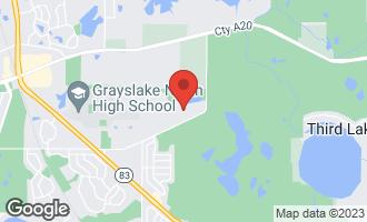 Map of 1996 Carillon Drive GRAYSLAKE, IL 60030