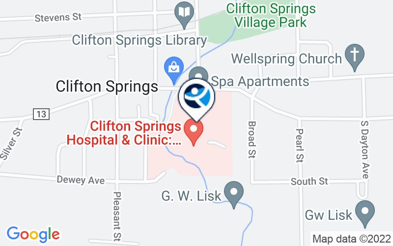 Clifton Springs Hospital - Behavioral Health Location and Directions