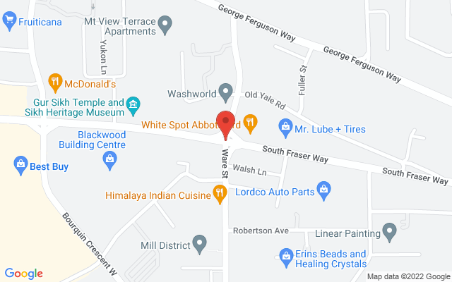 Mercy Place Abbotsford Location