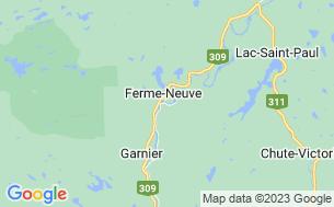 Map of Camping Halte Des Têtes-De-Boule