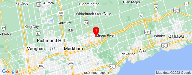 Google Map of 2 Pingel Rd Markham, ON, L6B 1B7