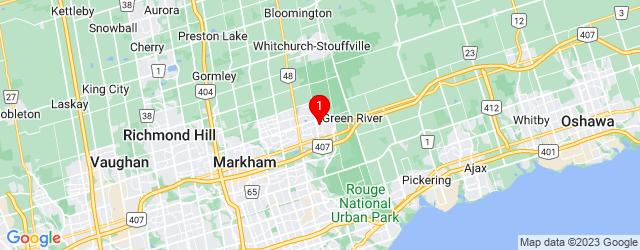 Google Map of 2 Pingel Rd Markham, ON, L6B 1B7