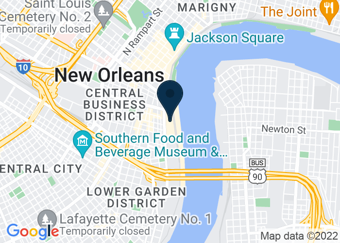 Map of 2 Poydras St, New Orleans, LA 70130, United States