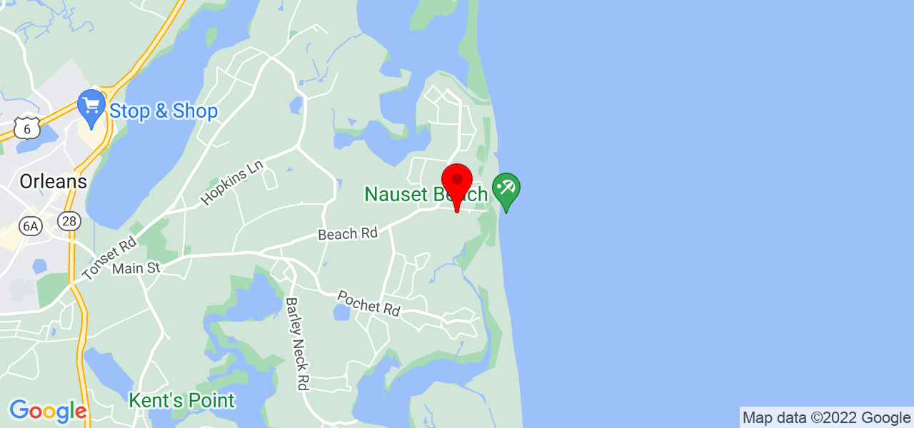 Google Map of2 Smith Neck Road Orleans MA