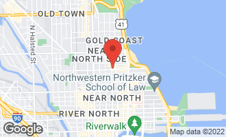 Map of 2 East Oak Street U3710 CHICAGO, IL 60611