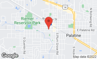 Map of 2 North Smith Street PALATINE, IL 60067