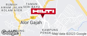 Get directions to Pusat Perniagaan Jelatang
