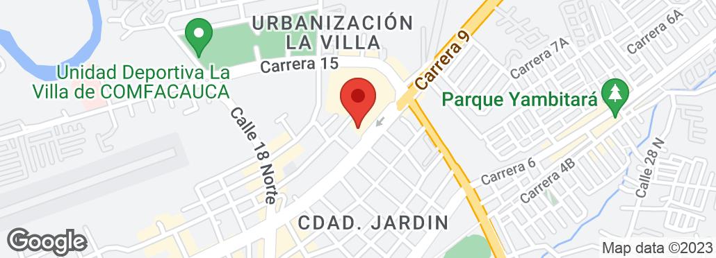 Carrera 9 #22N-53 Al lado del Centro Comercial Campanario, Popayán, VAC