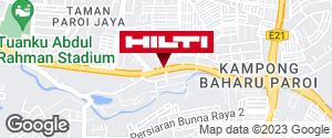 Get directions to Jalan Perpateh