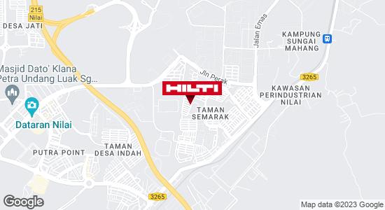 Get directions to Taman Semarak