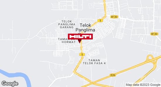 Get directions to Telok Panglima Garang