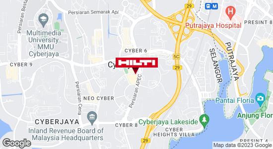 Get directions to CYBERJAYA