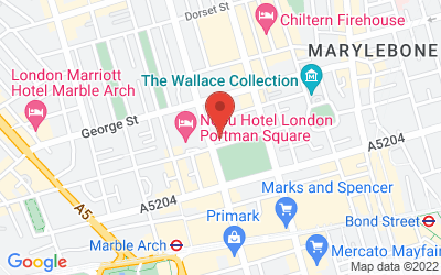 Map of London Home House