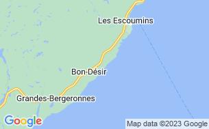 Map of Camping Mer Et Monde Écotours