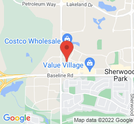Google Map of 20+Broadway+Boulevard%2CSherwood+Park%2CAlberta+T8H+2A2