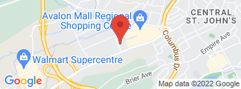 Google Map of 20+Peet+Street%2CSt+John%27s%2CNewfoundland+A1B+3N7