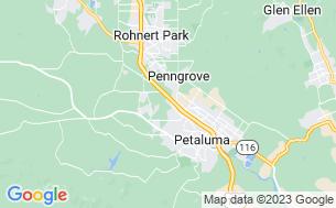 Map of San Francisco North Petaluma KOA