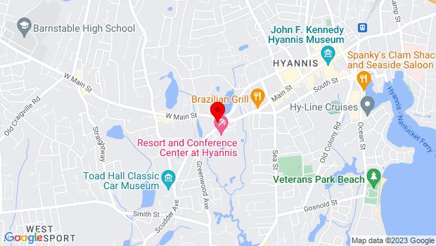 Google Map of 20 Scudder Avenue, Ma