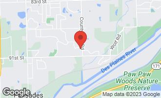 Map of 20 Ashton Drive BURR RIDGE, IL 60527